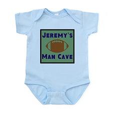 Personalized Man Cave Infant Bodysuit