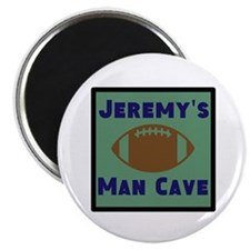 "Personalized Man Cave 2.25"" Magnet (100 pack)"