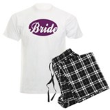 BRIDE OVAL (PUR) pajamas