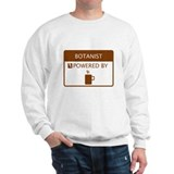 Botanist Powered by Coffee Sweatshirt
