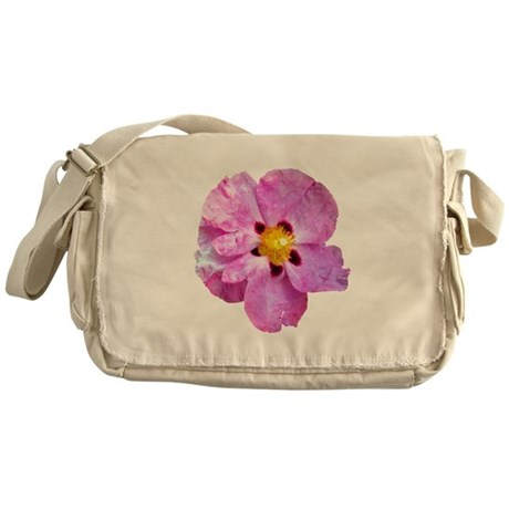 Spot Flower Messenger Bag