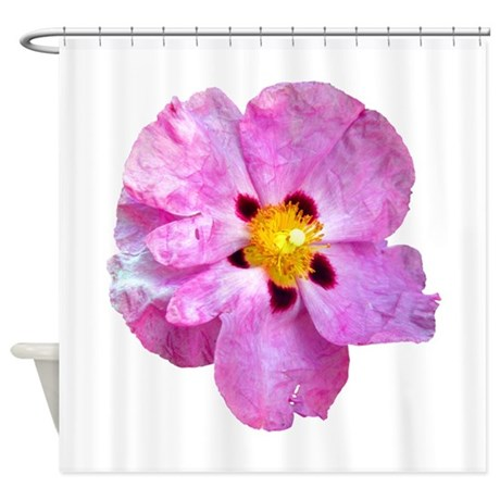 Spot Flower Shower Curtain