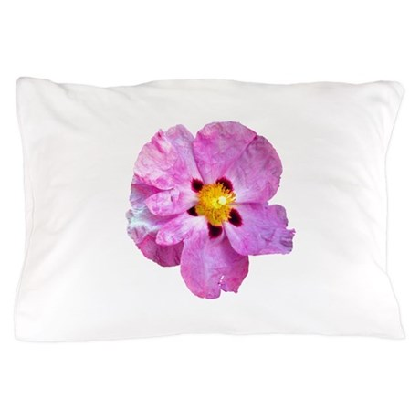 Spot Flower Pillow Case