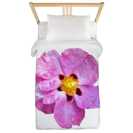 Spot Flower Twin Duvet