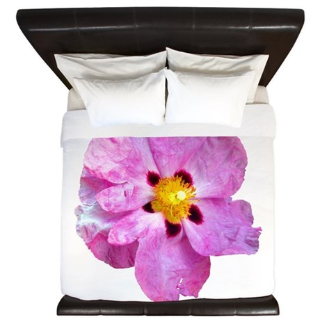 Spot Flower King Duvet