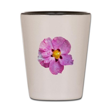 Spot Flower Shot Glass