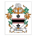 O'Coonan Coat of Arms Small Poster