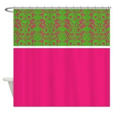 pink shower curtains pink fabric shower curtain liner