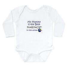 Cute Pharmacist for baby Long Sleeve Infant Bodysuit