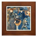 Renoir - Umbrellas Framed Tile
