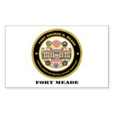 Fort Meade with Text Decal