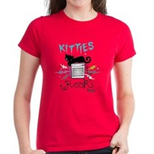 Kitties Rock Women's Dark T-Shirt