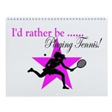 TENNIS Wall Calendar