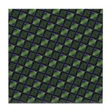 Funky Green Tile Coaster