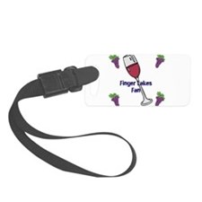 Finger Lakes fan Small Luggage Tag