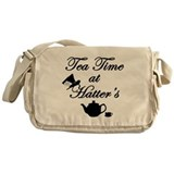 Tea Time at Hatters Messenger Bag