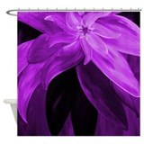 Plum Shower Curtains