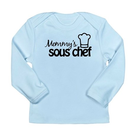 Mommy's Sous Chef Long Sleeve Infant T-Shirt