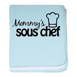 Mommy's Sous Chef baby blanket