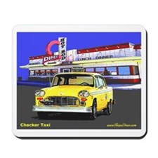 Checker Taxi Mousepad