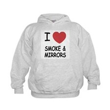 I heart smoke and mirrors Hoodie
