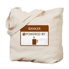 Banker Powered by Coffee Tote Bag