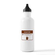 Aviator Powered by Coffee Water Bottle
