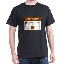 Astronomer Powered by Coffee T-Shirt