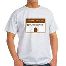 Assistant Principal Powered by Coffee T-Shirt