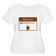 Archivist Powered by Coffee T-Shirt