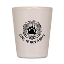 One Norn Army Shot Glass