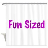 Fun Sized Shower Curtain
