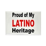Proud Latino Heritage Rectangle Magnet (10 pack)