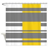 Modern Stripes design Shower Curtain