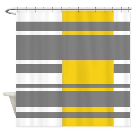 modern stripes design shower curtain by marshenterprises