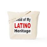 Proud Latino Heritage Tote Bag