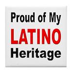 Proud Latino Heritage Tile Coaster