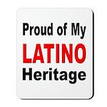 Proud Latino Heritage Mousepad