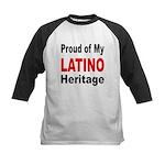 Proud Latino Heritage Kids Baseball Jersey