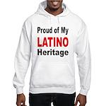 Proud Latino Heritage (Front) Hooded Sweatshirt