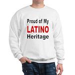 Proud Latino Heritage (Front) Sweatshirt