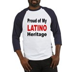 Proud Latino Heritage (Front) Baseball Jersey