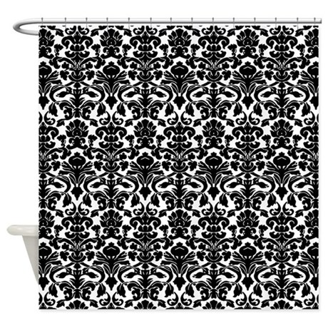 Damask Pattern Shower Curtain By MarshEnterprises