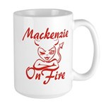 Mackenzie On Fire Large Mug