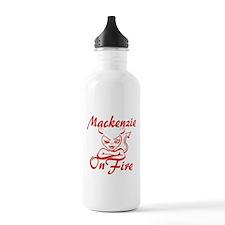 Mackenzie On Fire Water Bottle