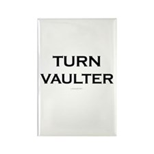 Turn Vault Parkour Rectangle Magnet (100 pack)