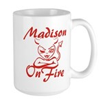 Madison On Fire Large Mug