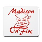 Madison On Fire Mousepad