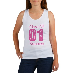 Class of 2001 Reunion Women's Tank Top