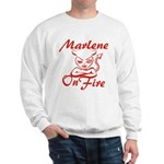 Marlene On Fire Sweatshirt